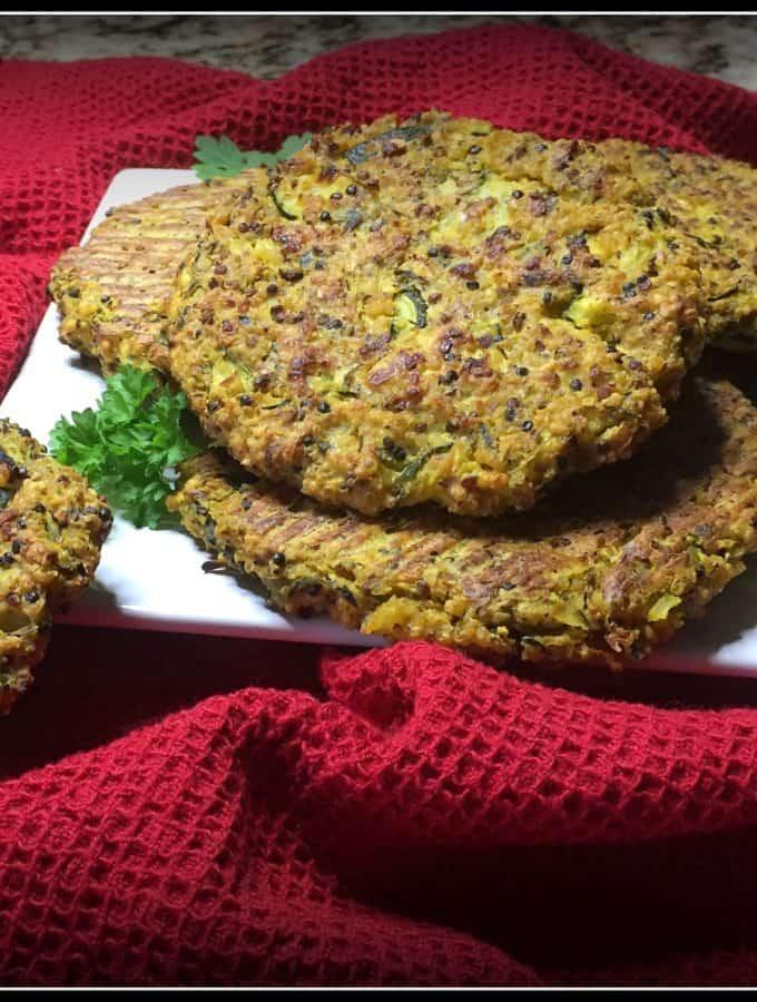 Quinoa Zucchini Patties
