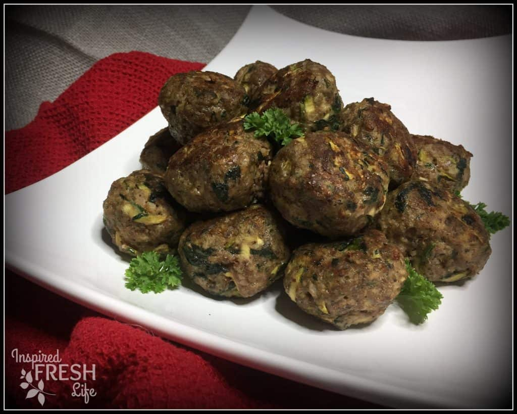 Loaded Veggie Meatballs