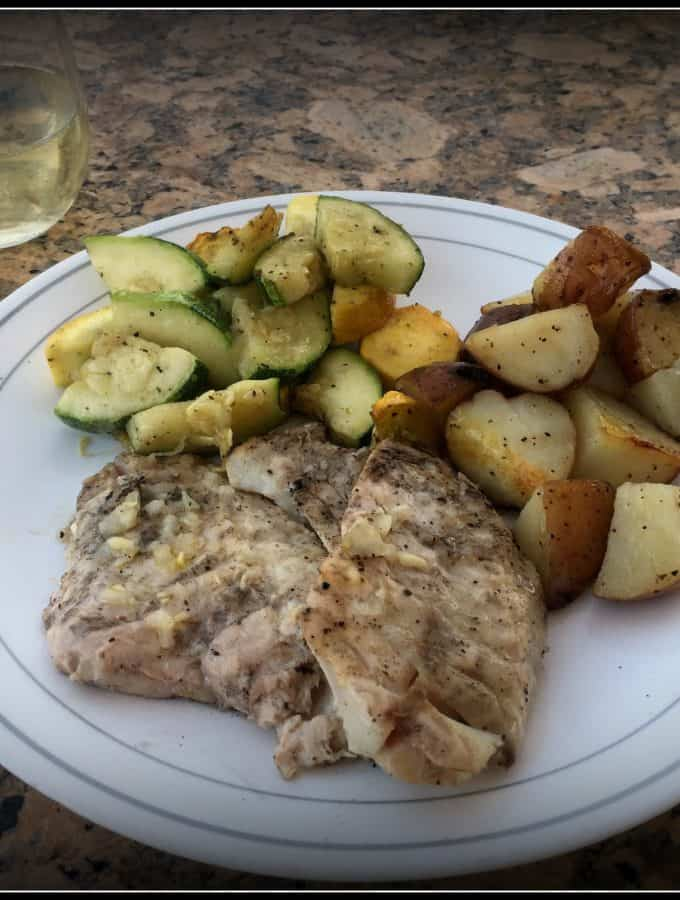 Grilled Rock Fish
