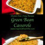Pinterest image for Gluten-free Green Bean Casserole