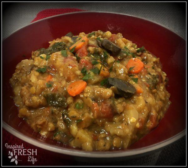 Lentil Farro Stew