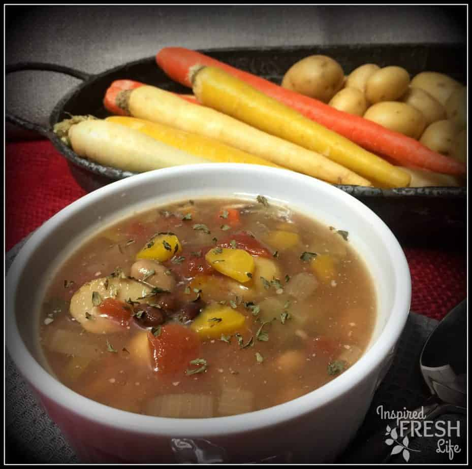 Loaded Vegetable Bean Soup