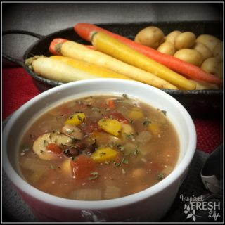 Loaded Vegetable Bean Soup