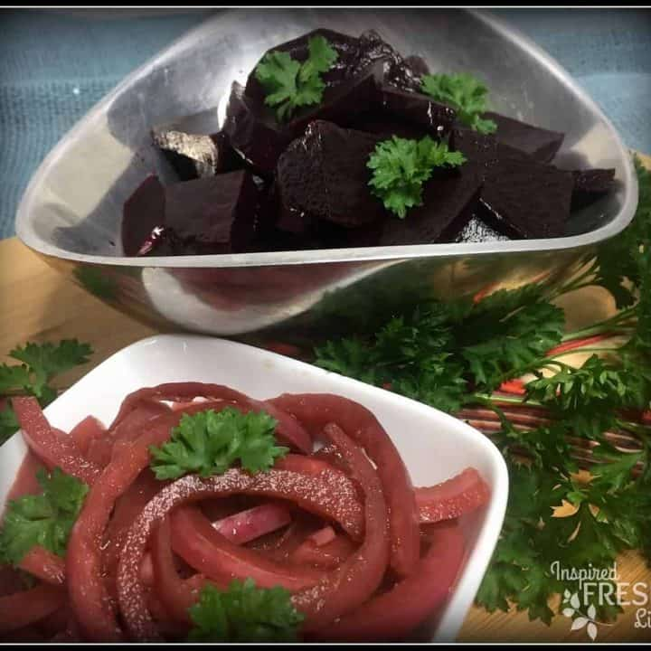Pickled Beets and Onions