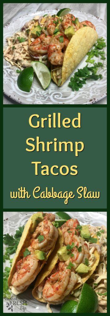 grilled shrimp tacos pinterest image