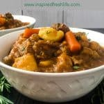 Irish Beef Stew Pinterest image
