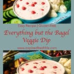 Everything but the Bagel Pinterest image.
