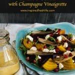 Roasted Beet and Endive Salad Pinterest image