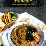 Pinterest image for Mediterranean Hummus