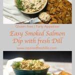 Smoked Salmon Dip Pinterest image