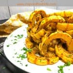 Roasted Delicata Squash with Thyme Pinterest image