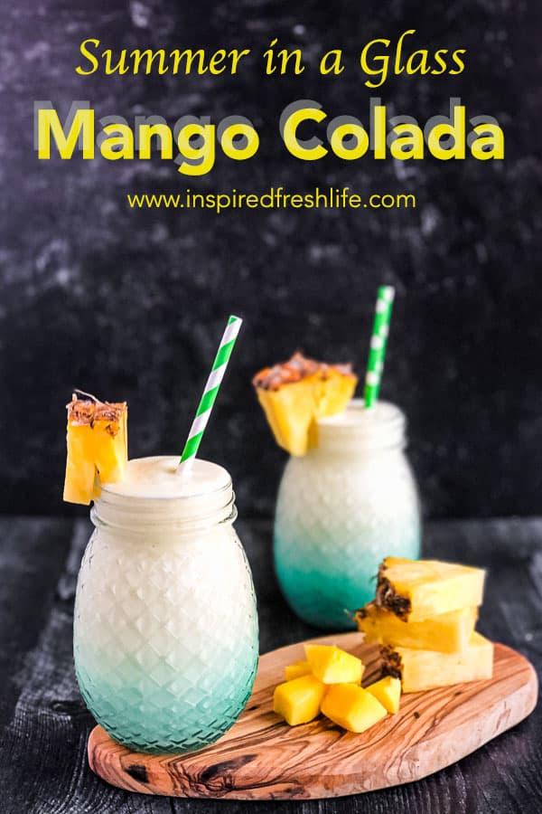 Pinterest image for Mango Colada