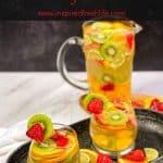 Pinterest image for White Wine Sangria
