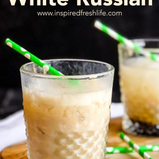 Pinterest image for Irish White Russian.
